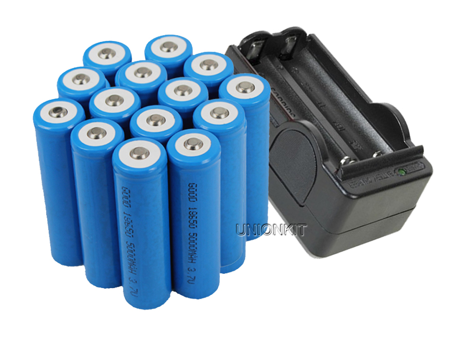 18650 Battery with Charger